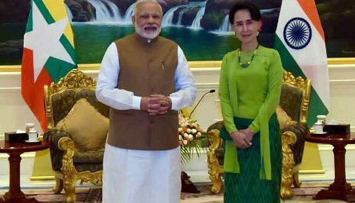 India shares concerns with Myanmar on Rakhine situation