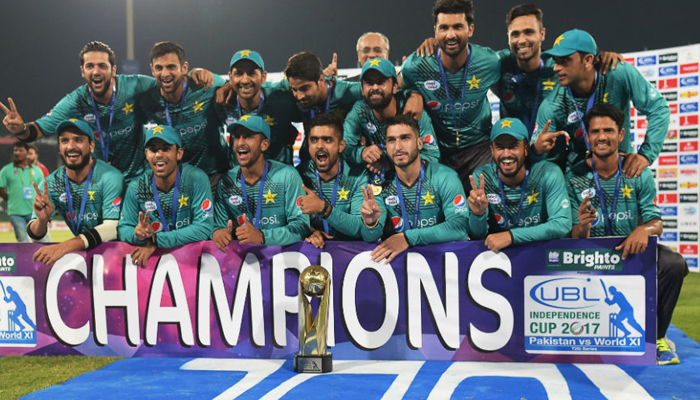 Pakistan lifts Independence Cup; beats World XI 2-1 in T20I series