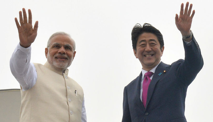 Japanese PM Shinzo Abe to reach India today on two-day visit