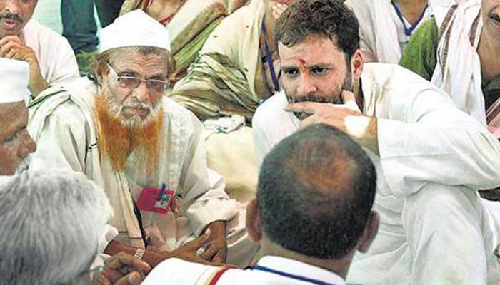 Country needs industrialists but it needs farmers too: Rahul gandhi