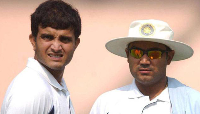 Sourav Ganguly finds Sehwags remark on losing head coach job foolish
