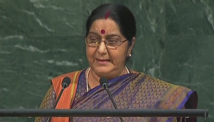 Sushma Swaraj to aid of Indians abroad who lost passports