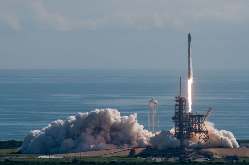 SpaceX launches secret US Air Force space plane