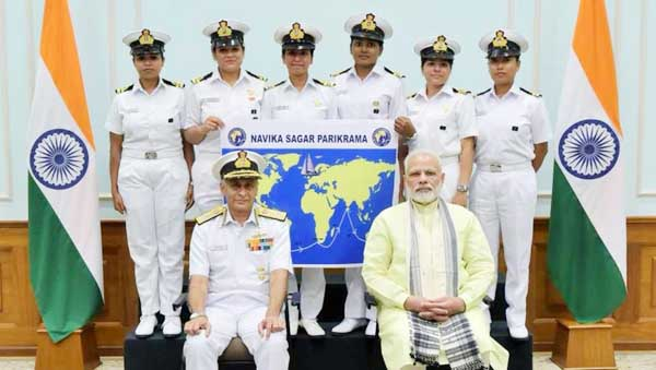 INSV Tarini to embarkcircumnavigation journey today, PM extends wishes