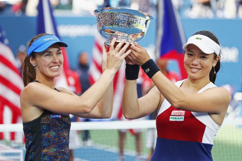 Hingis, Chan win US Open womens doubles crown