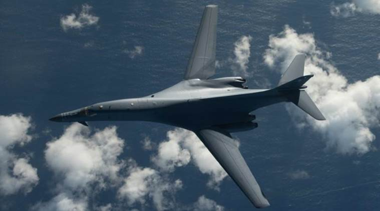 US bombers fly close to North Koreas coast in show of force