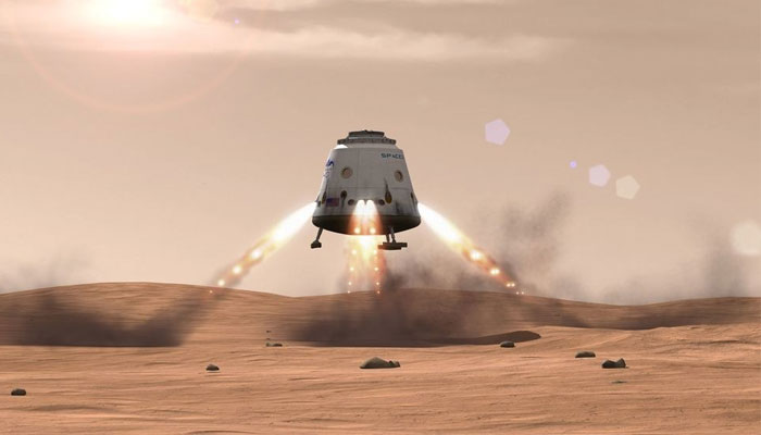 SpaceX reveals plan for manned journey to Mars