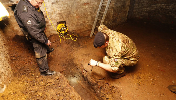 Vienna   500 kg unexploded World War II bomb unearthed