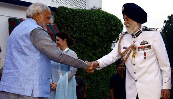 India will never forget Arjan Singhs leadership in 1965 war: PM Modi