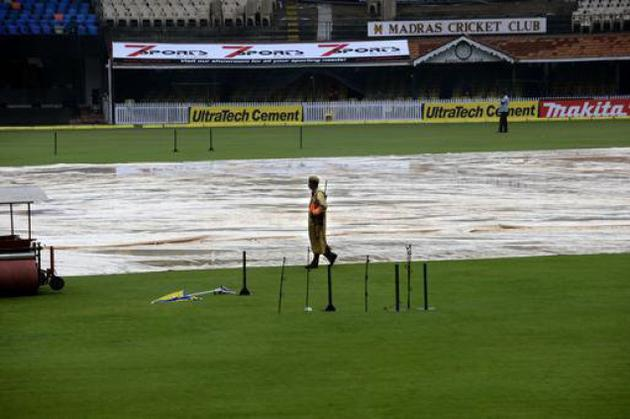 Ind vs Aus: Australias chase in first ODI delayed by rain