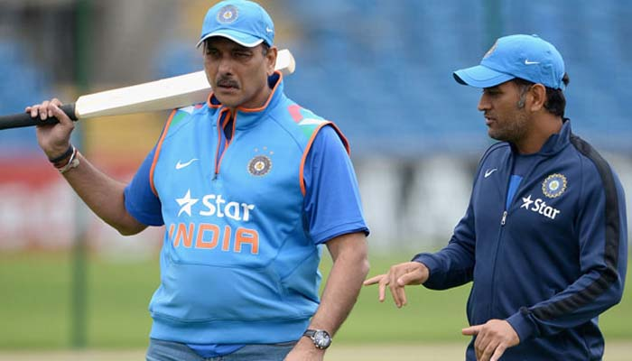 Ravi Shastri has something to say about Dhonis future