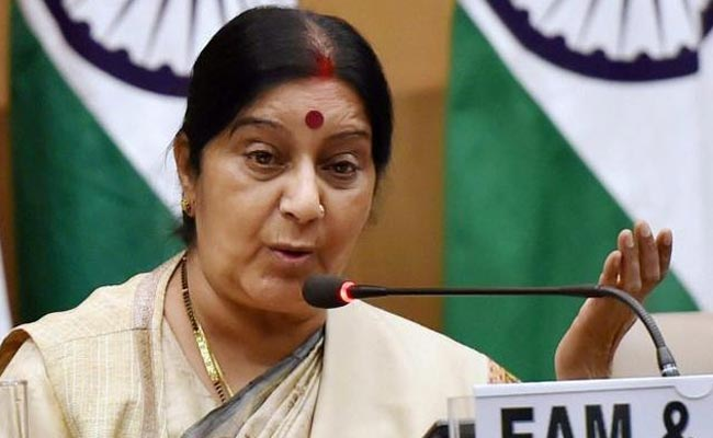 Support for Palestine reference point of foreign policy: Swaraj