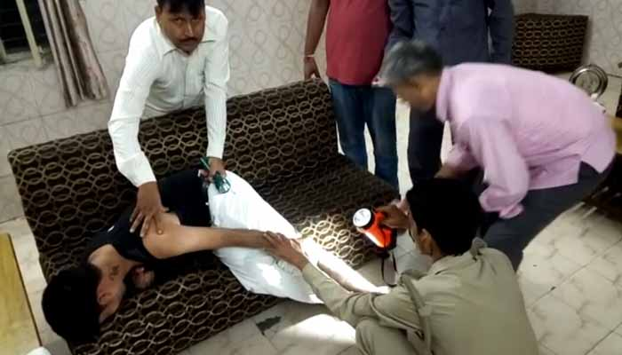 Railway guard shot at by miscreants inside train in Shahjahanpur