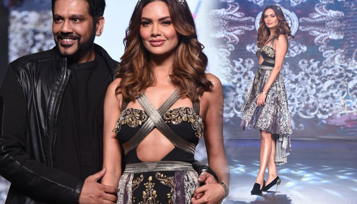 Esha Gupta slays it again with her killer looks, this time on a ramp
