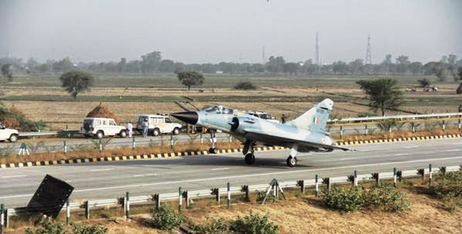 Landing on Agra Expressway an important operational achievement: IAF Vice Chief