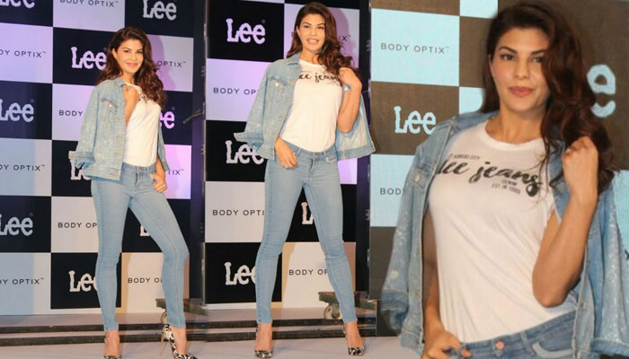 Jacqueline Fernandez clicked having fun with denims! See snaps...
