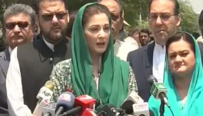 Nawaz Sharifs daughter appears before accountability court