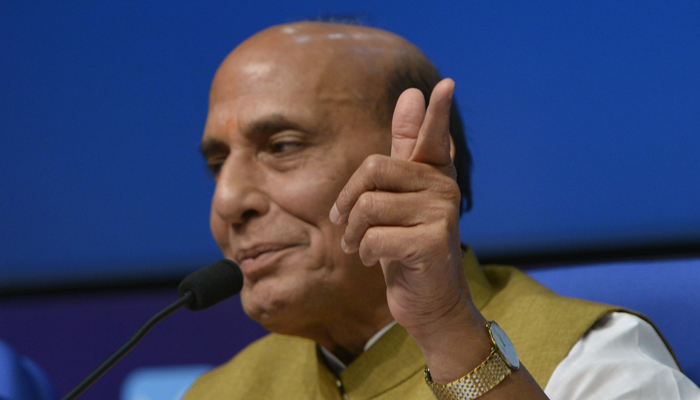Centre ready for sustained dialogue to solve Kashmir issue: Rajnath Singh