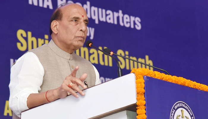 NIA will curb foreign funding to terrorists: Rajnath Singh