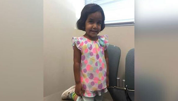 Search for missing three-year-old Indian girl continues in Texas