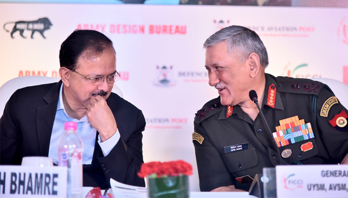 Help secure bases and borders, Army chief tells private sector