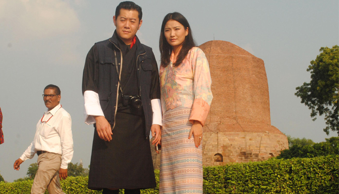 Bhutanese King arrives on four-day India visit after Doklam issue