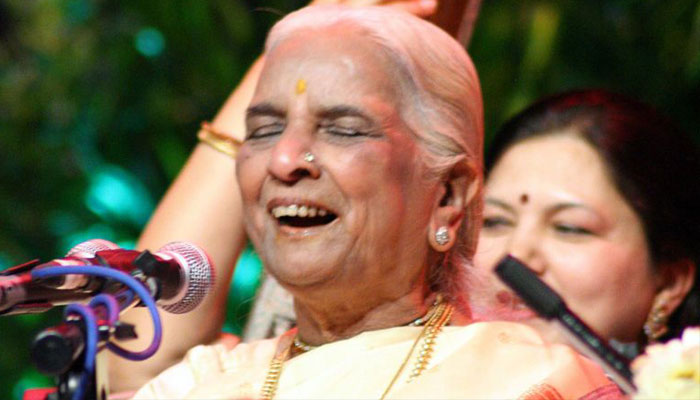 Nation mourns the demise of Thumri queen Girija Devi