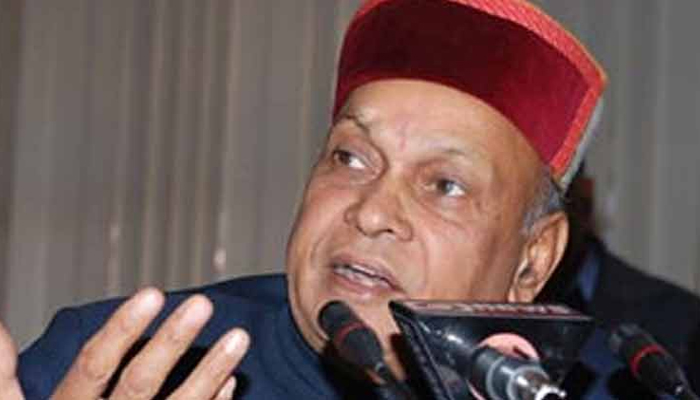BJP declares Himachal list, Dhumal to contest from Sujanpur