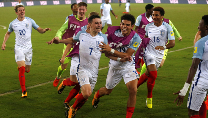 England thrashes Spain 5-2 to win maiden FIFA U-17 World Cup title