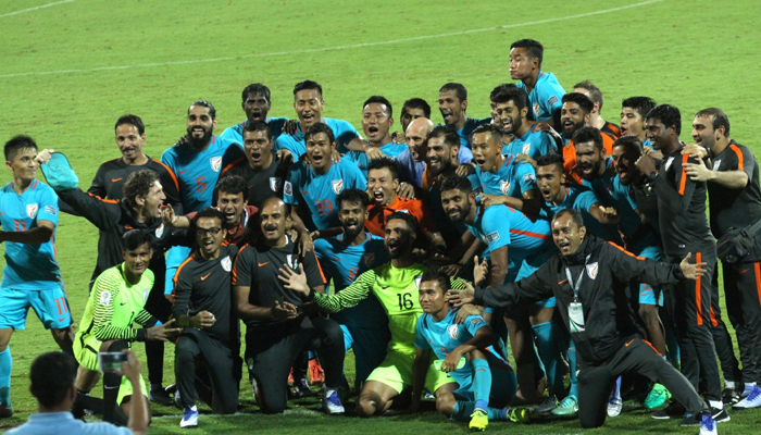 India outshines Macau to qualify for 2019 Asian Cup