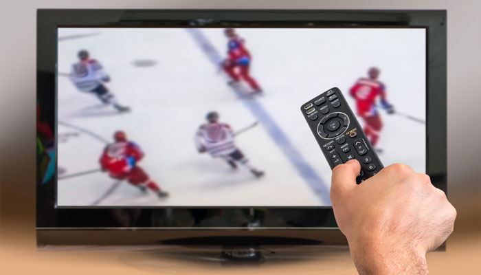 ATTENTION   Watching hockey can be stressful for your heart?