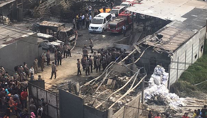 At least 32 killed in Indonesia factory explosion