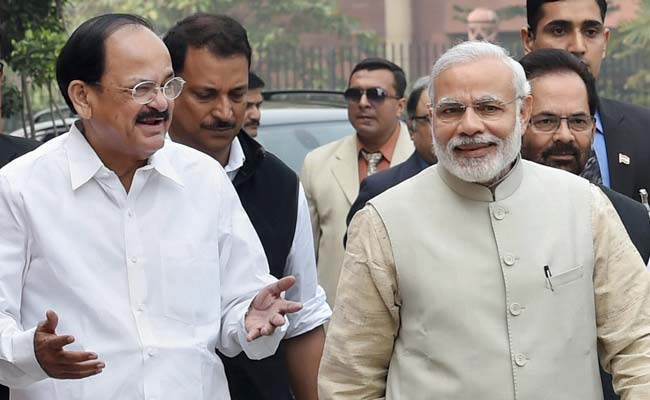 Naidu compares Modi to a strict principal, says reforms will show results