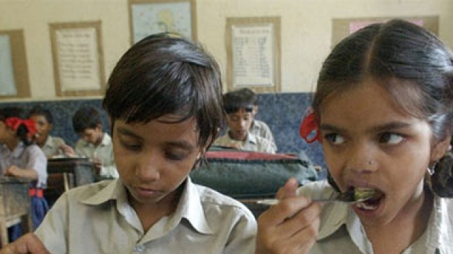 87 Bengal kids taken to hospital after dead lizard found in meal
