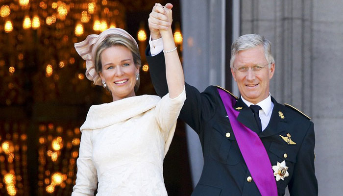Belgian King and queen arrive on state visit to India