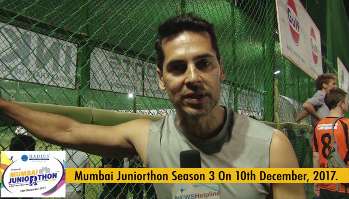 Go out get fit this is the right age to start, says Dino Morea