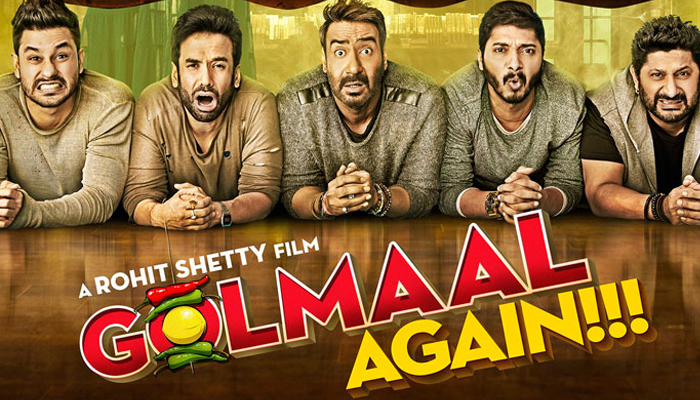 Golmaal Again sets new benchmark; fetches over 200 crore in India