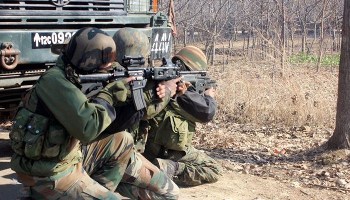 Gunfight erupts between militants and security forces in J&K