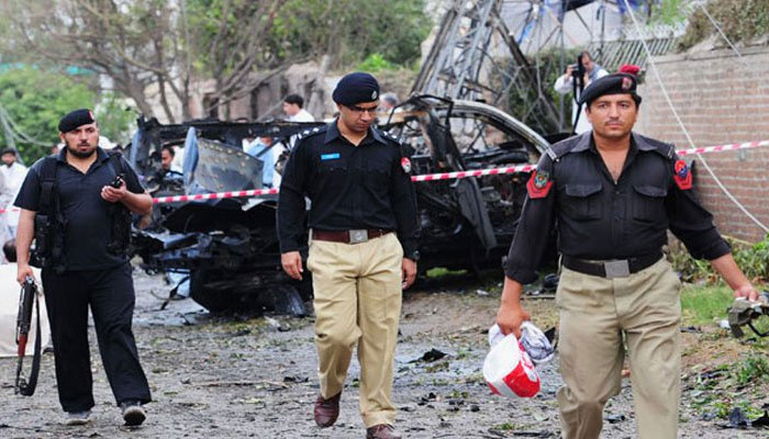 Three killed in Pakistan suicide attack in Peshawar city