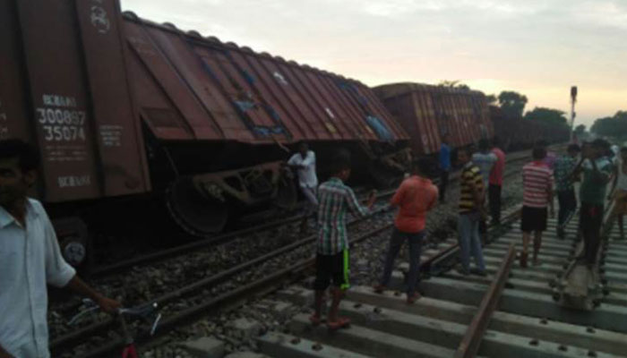 After UP, Fourteen wagons of goods train derail in Odisha