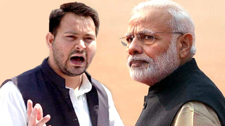 Modi should be questioned if anything happens to dad: Tejashwi