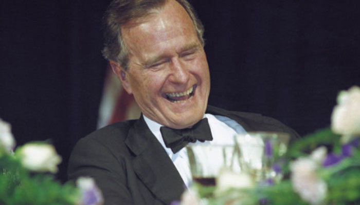 Seventh woman accuses George H.W. Bush of groping