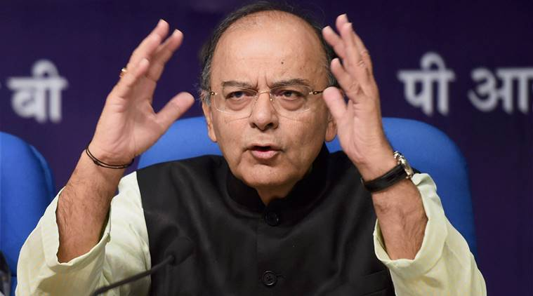 Congress supporting anarchists in Gujarat: Arun Jaitley
