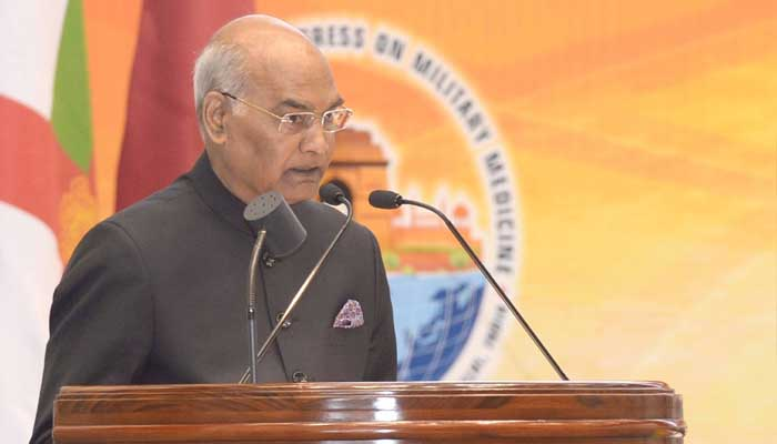 Indian women have evolved as able soldiers: President