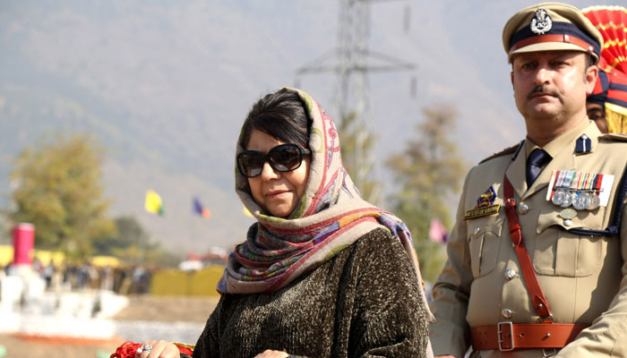 Mehbooba Mufti announces amnesty to first-time stone pelters