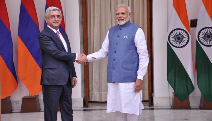 PM Modi meets Armenian President, discusses ways to boost ties