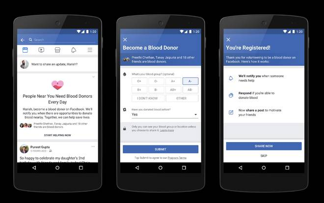 Over 4 mn Indians join Facebooks blood donation feature