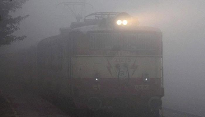 Cold Friday morning in Delhi, 16 trains cancelled