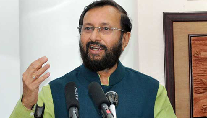 Sena betrayed people by siding with corrupt Cong: Javadekar