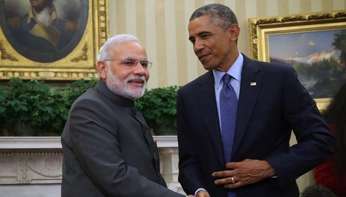 Told Modi privately that country shouldnt be divided on religious lines: Obama